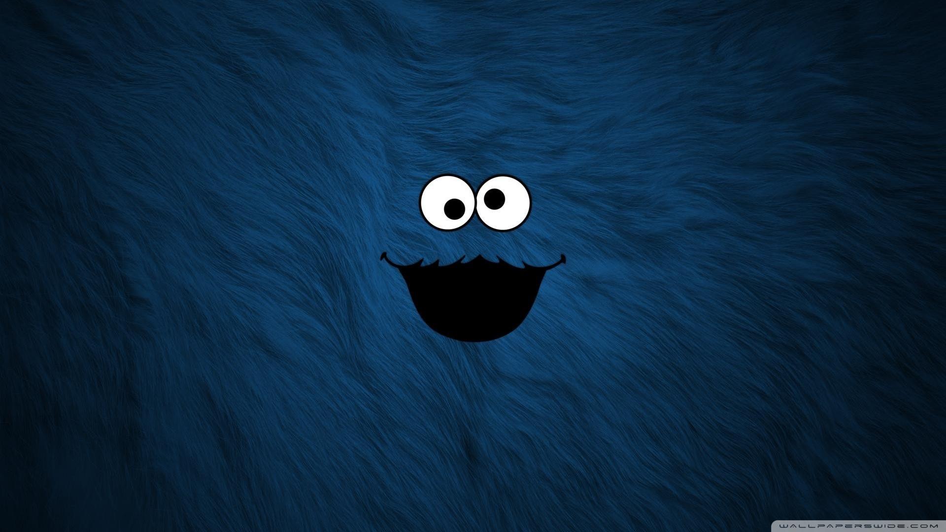 Cute Cookie Monster Wallpaper Cookie Monster Hd Wallpaper