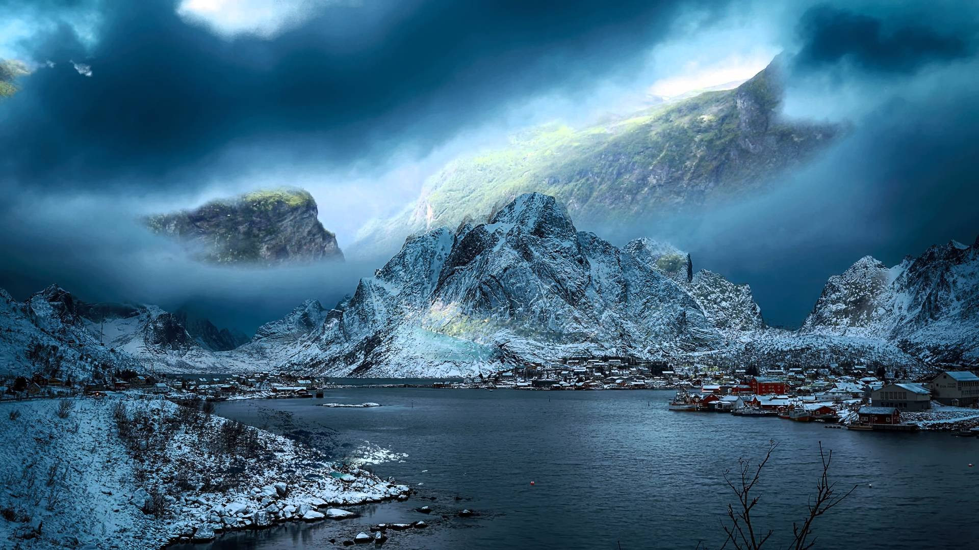 Mass Effect Fall Wallpaper Fjords Norway Hd Wallpaper