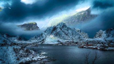 Fjords Norway HD wallpaper