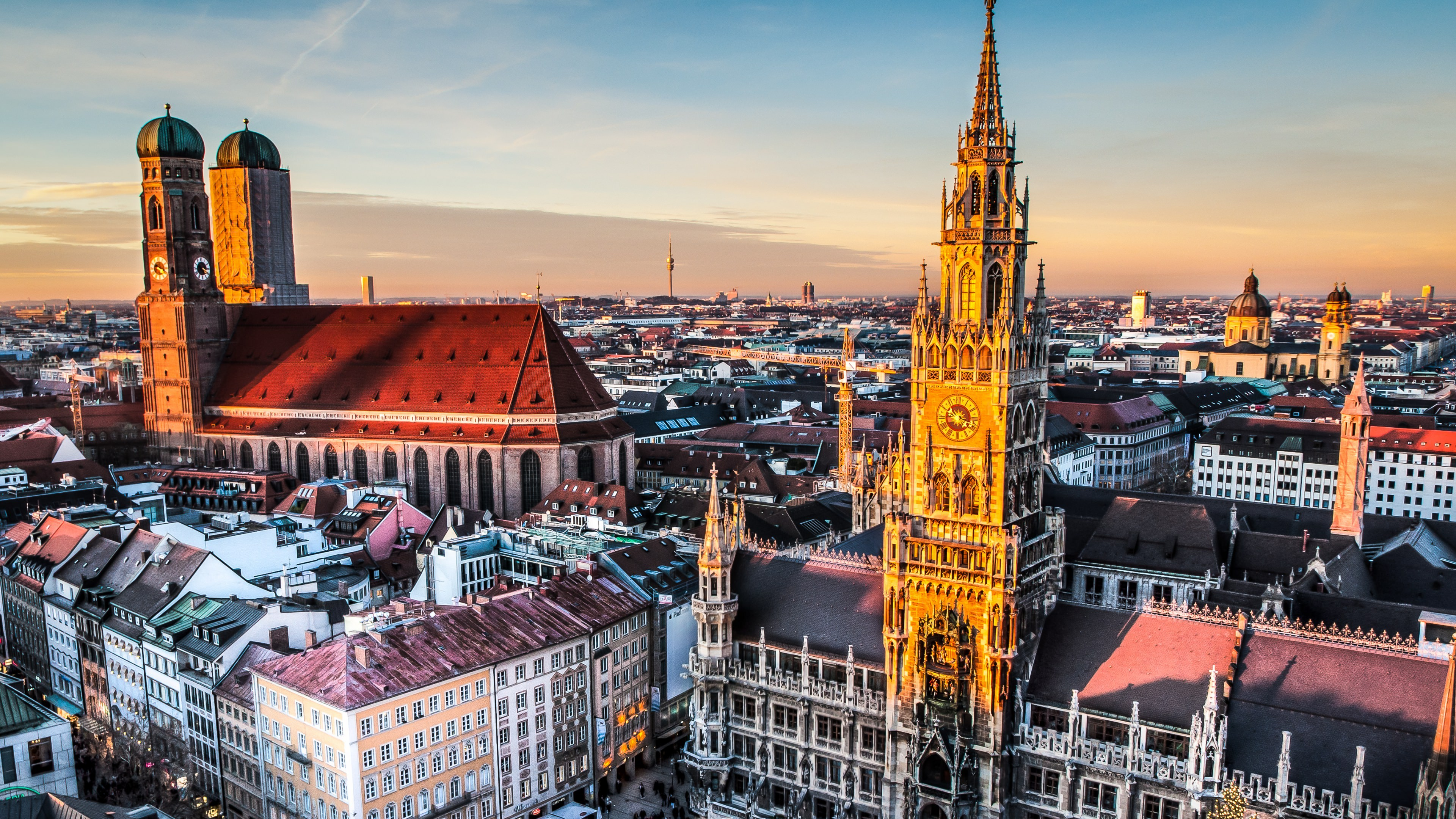 400 800 Hd Wallpaper Munich Skyline 4k Wallpaper