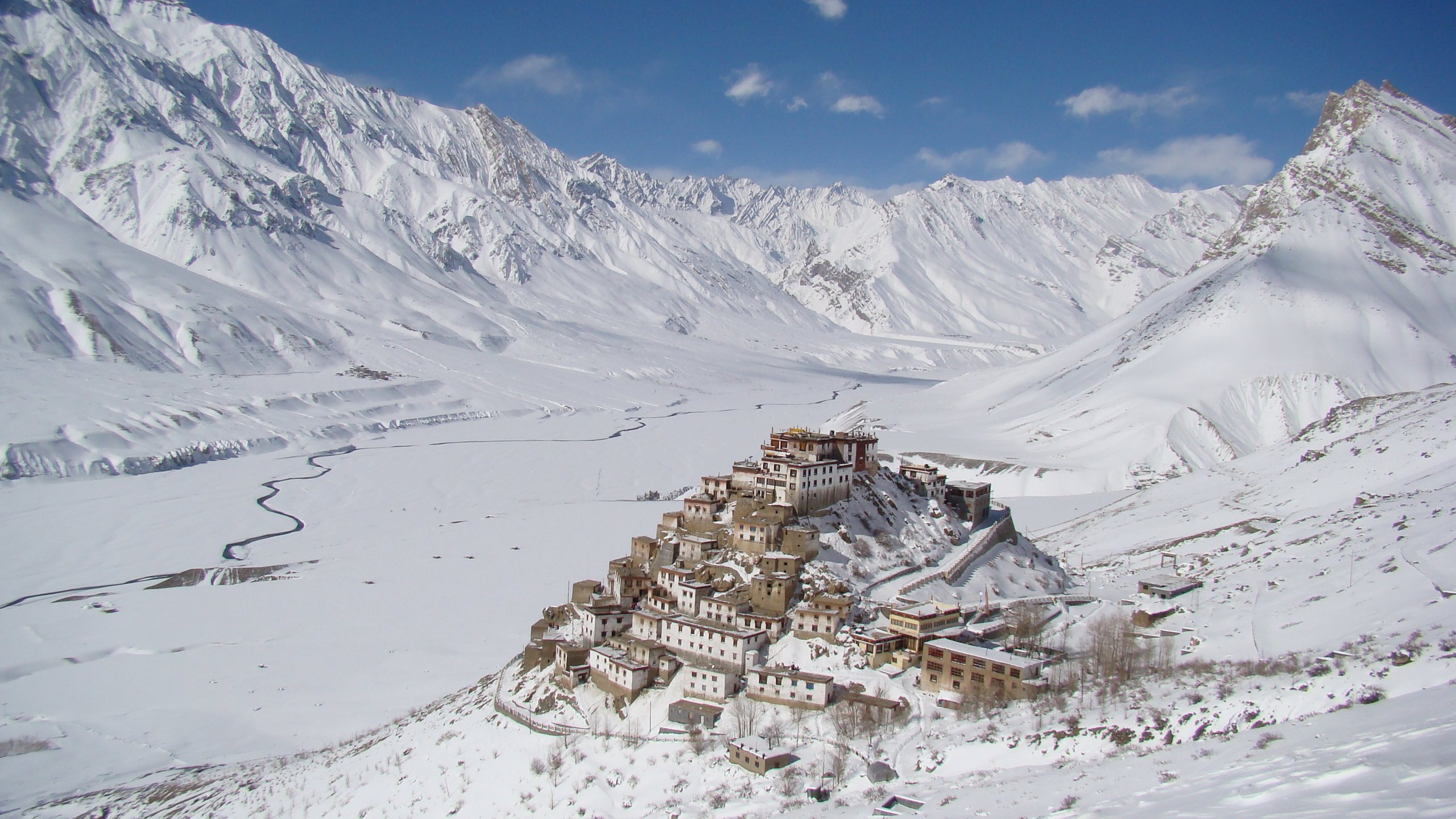 Wallpaper Hd For Iphone 5s Key Monastery Spiti Valley India Hd Wallpaper