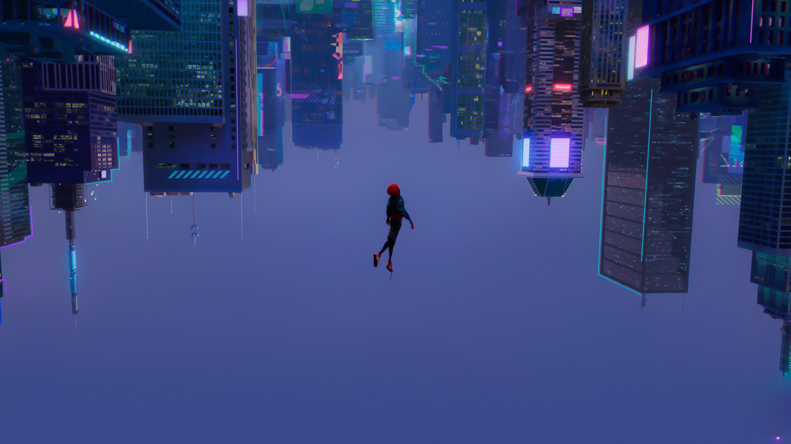 Galaxy S5 Fall Wallpaper Spider Man Into The Spider Verse Hd Wallpaper