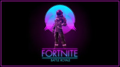 Fortnite - Synthwave Royale 4K wallpaper