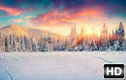 Fall Mountaons In The Sun Wallpaper Winter Amp Snow Wallpapers Hd New Tab Themes Free Addons