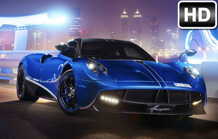 Ferrari Blue Car Hd Wallpaper Sports Cars Super Cars Wallpaper Hd Themes Free Addons