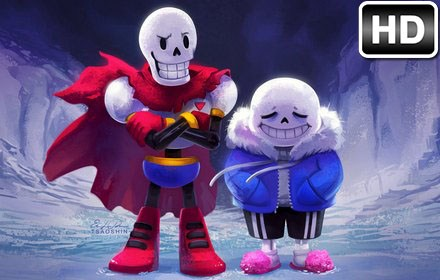 Fall Wallpaper With Owls Undertale Sans Papyrus Hd Wallpapers New Tab Free Addons