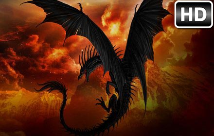Dark Clouds Hd Wallpaper Dragon Wallpaper Hd New Tab Dragons Themes Free Addons