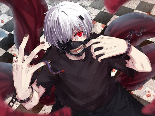 Fall Wallpaper With Dogs How Strong Is Kaneki Ken A Tokyo Ghoul Character Review