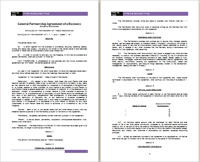 Awesome Examples Of Contracts Between Two Businesses Gallery