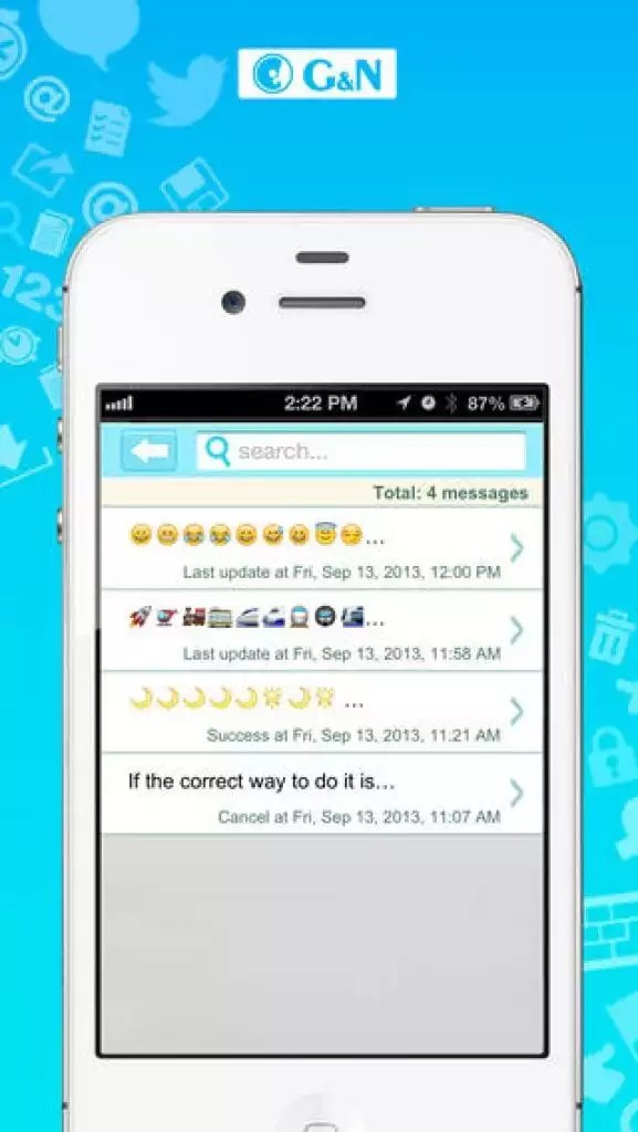15 Free SMS Apps for iPhone like iMessage Free apps for android - cool text message art