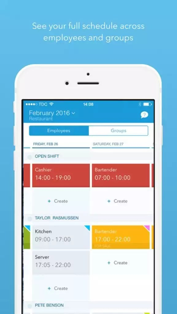 10 Best Employee Scheduling Apps for iOS  Android Free apps for