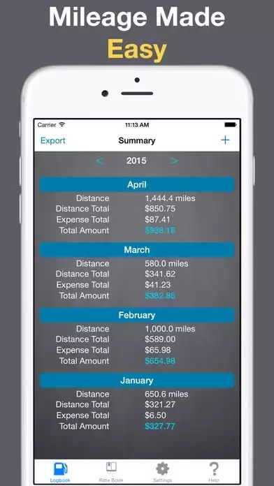 21 Best mileage tracker apps for iOS and Android Free apps for - free mileage app