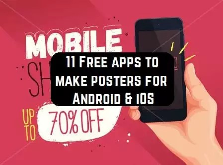 11 Free apps to make posters for Android  iOS Free apps for