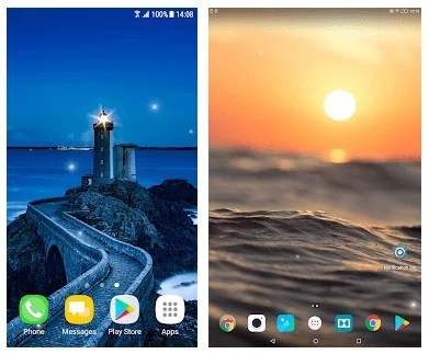 3d Wallpaper Gyro 17 Best Screensaver Apps For Android Amp Ios Free Apps For