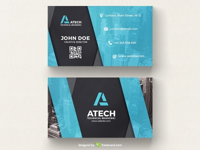 Creative FREE Business Card Templates  Business Card Photography