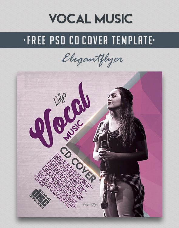 40 FREE PSD CD/ DVD COVER TEMPLATES IN PSD FOR THE BEST MUSIC AND
