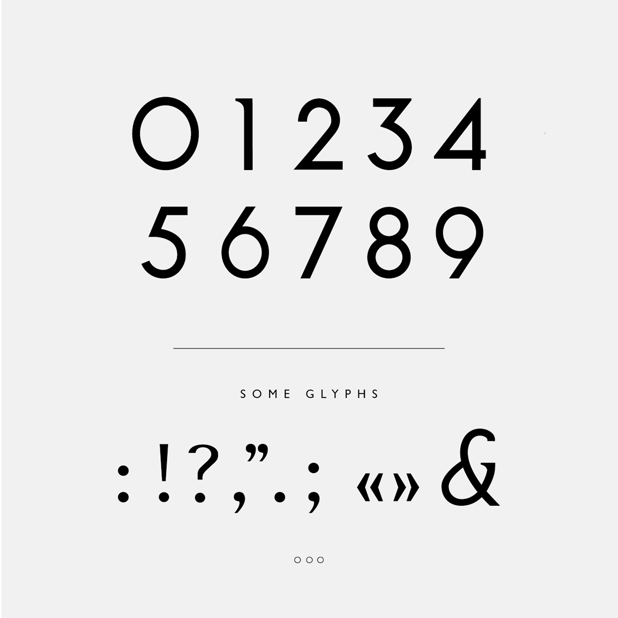 NOOA - Free Typeface