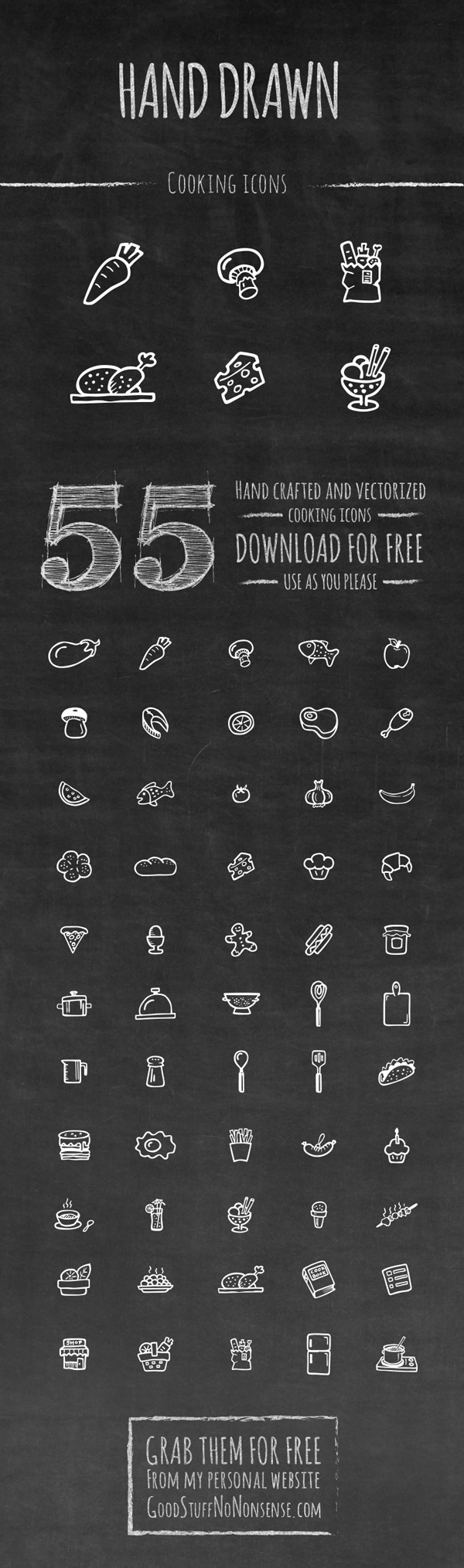 cooking-hand-drawn-icons