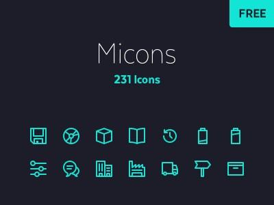 Free 231 Icon Set
