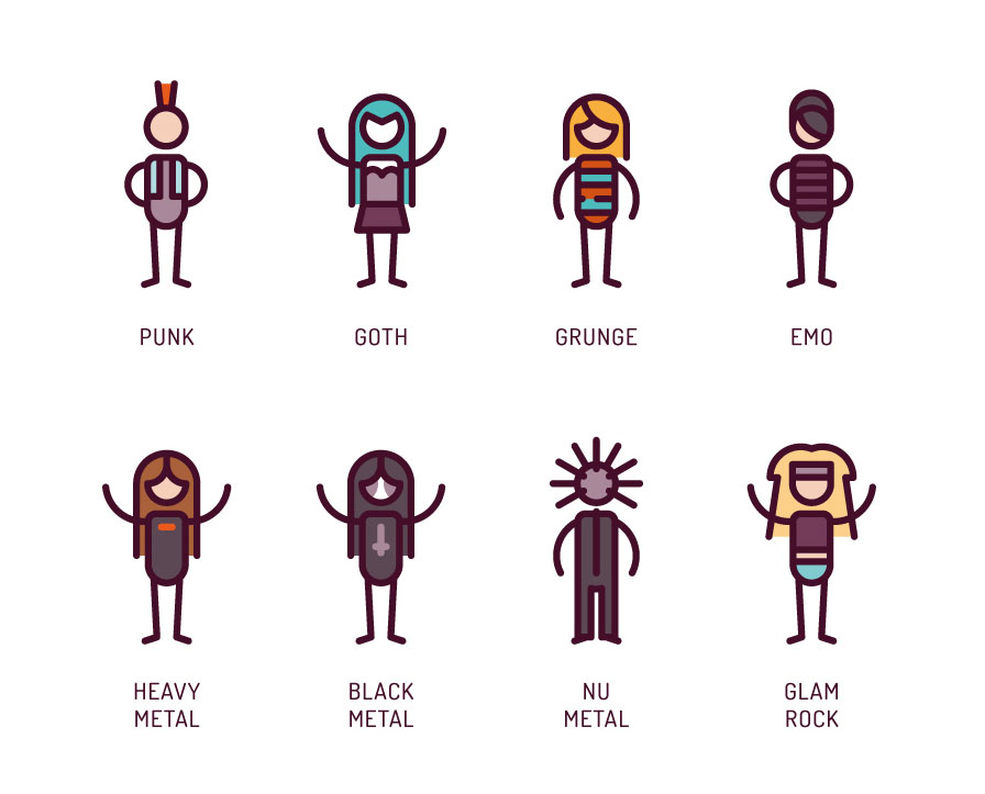 Musical Genres Free Icon Pack