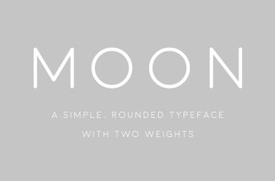 Moon – Free Font