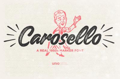 Carosello Free Font