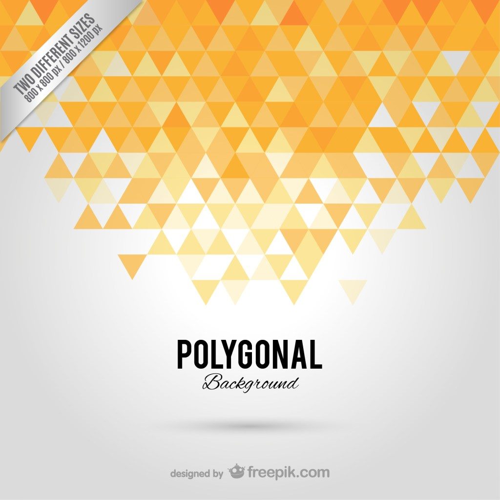 Polygonal Abstract Background Free Vector