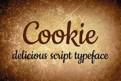 Free Cookie Typeface
