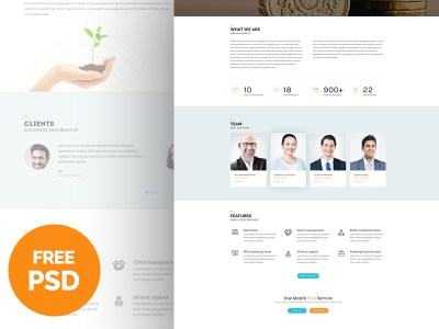 Bplus – Business Free PSD
