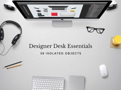 Free Designer Desk Essentials