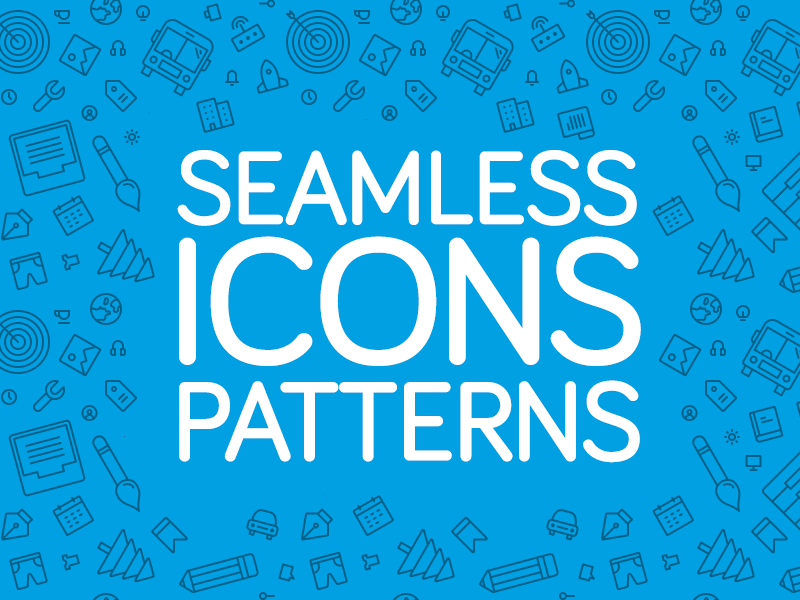 Free Seamless Icons Patterns