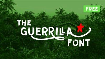 Guerrilla Free Font