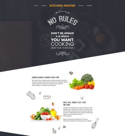 Kitchen Master – Free PSD