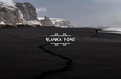 Blanka – Free Font