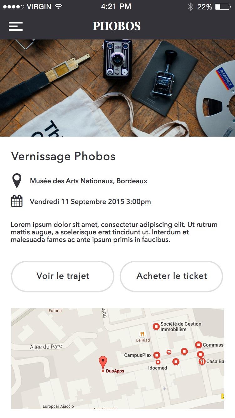 Goodbarber Free Open UI Kit