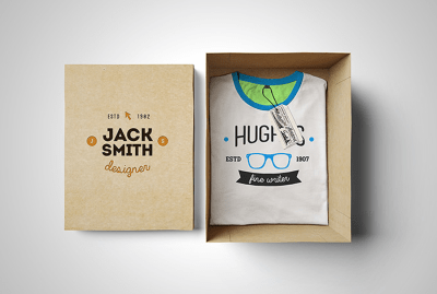 T-shirt Mockup – Free Box Edition