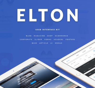 Elton Free UI Kit