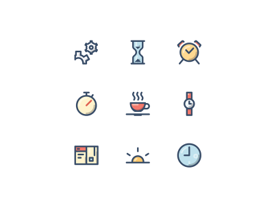 Time Management Free Icons