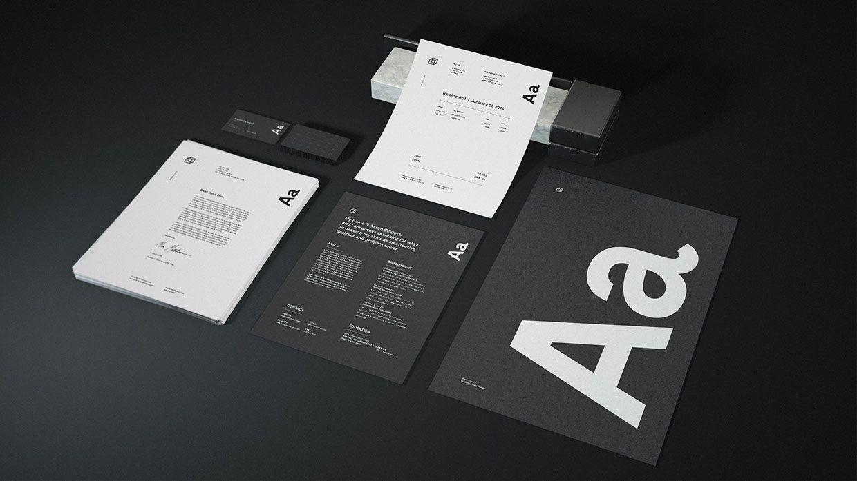 Free Granite Stationery Bundle