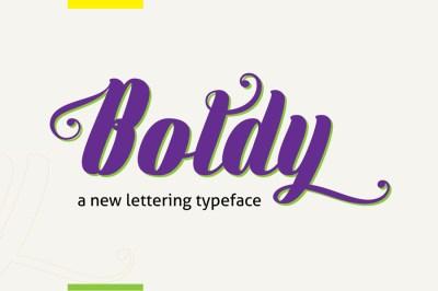 Free Boldly Typeface