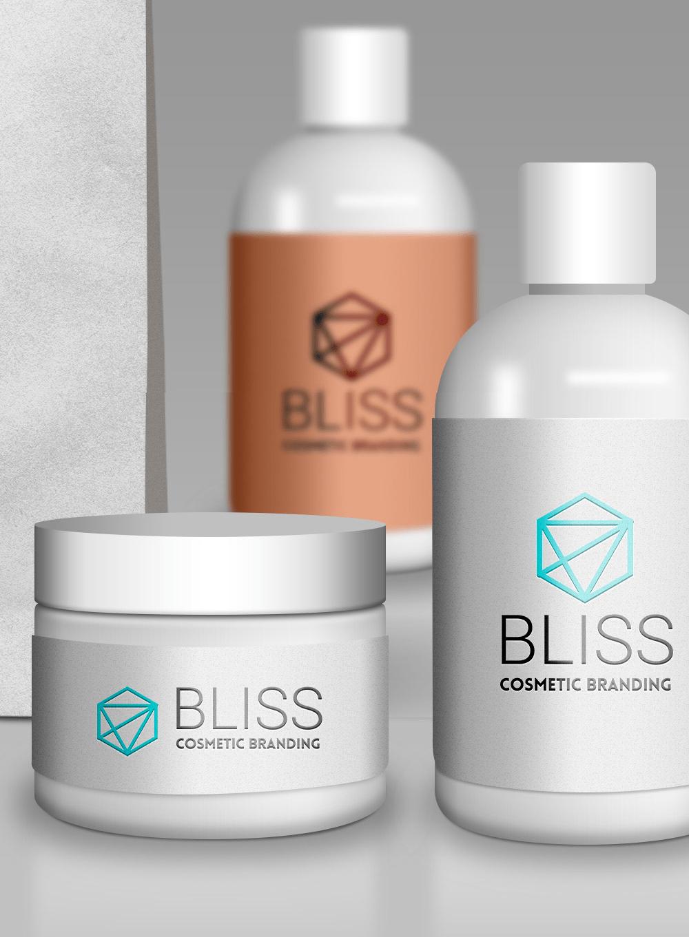 Cosmetic Branding Mockup PSD