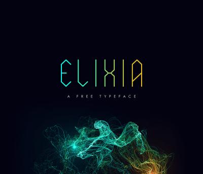 ELIXIA – Free Font