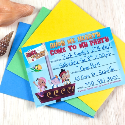 FREE Birthday Party Invitation Printables from Disney! 25 to Choose
