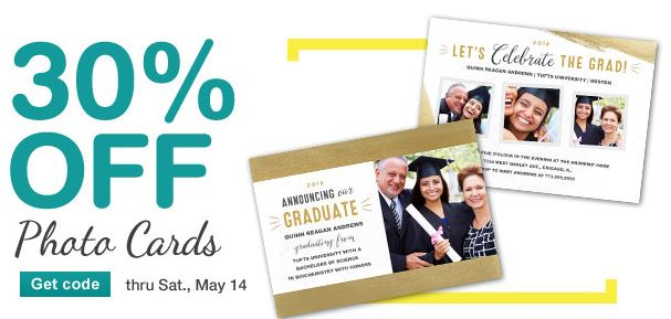 Walgreens 30 Off Photo Cards! Print Your Graduation Announcements