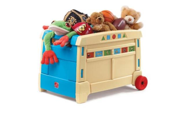 Kohl S Cardholders Get Two Step2 Lift Roll Toy Box For