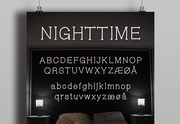 Nighttime Font Download
