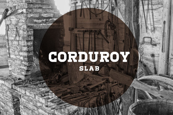 Corduroy Slab Free Font Download