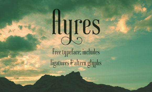 Ayres Font Download