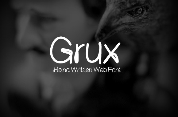 Grux Free Font Download