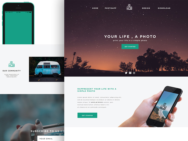 23+ PSD Website Templates - Free Templates Download - simple website templates